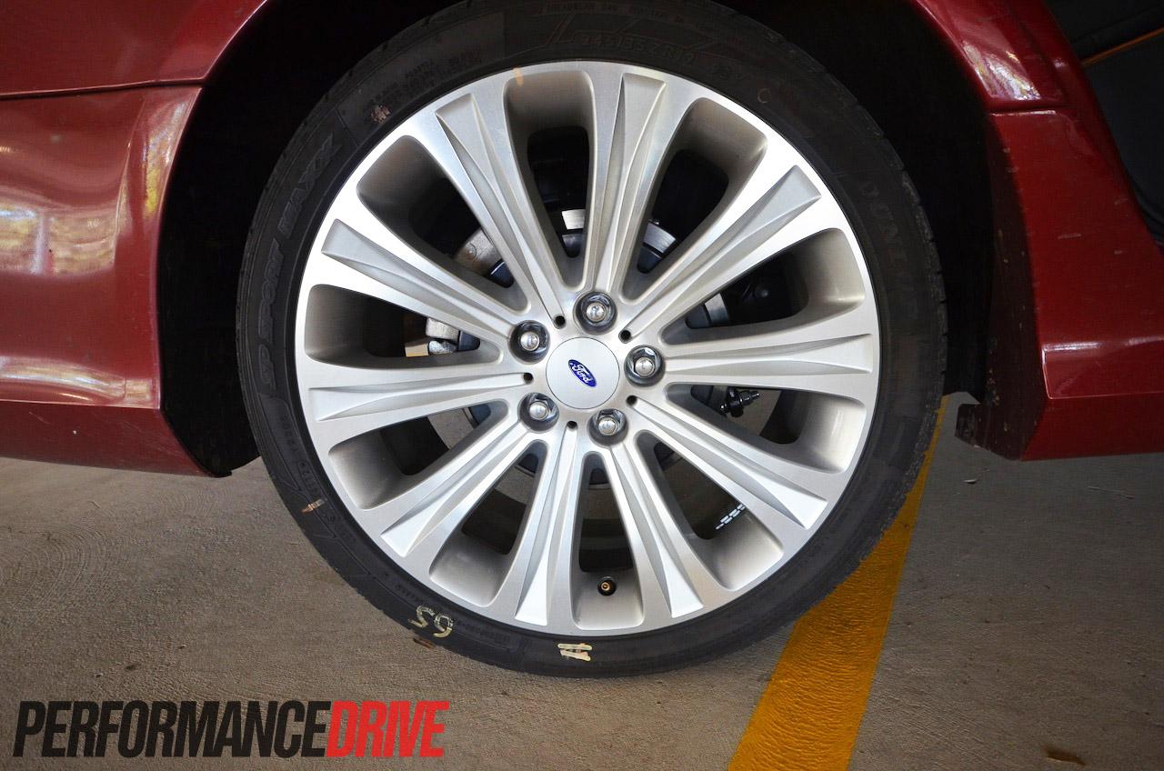 2013 Ford G6E Turbo FG MKII 19 inch wheels