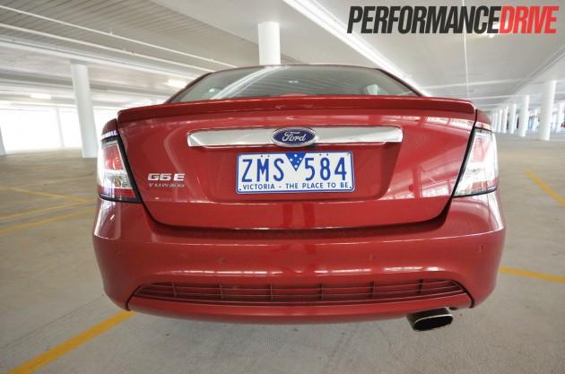 2013 Ford G6E Turbo FG MKII rear end