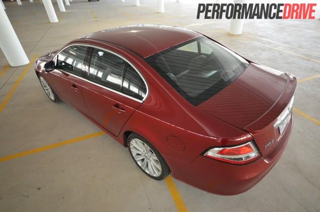 2013 Ford G6E Turbo FG MKII rear high
