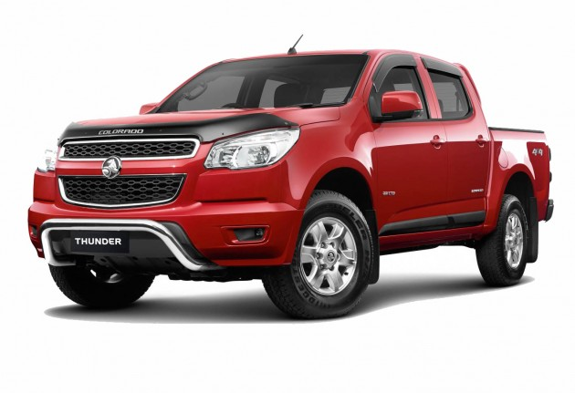 2013 Holden Colorado Thunder pack