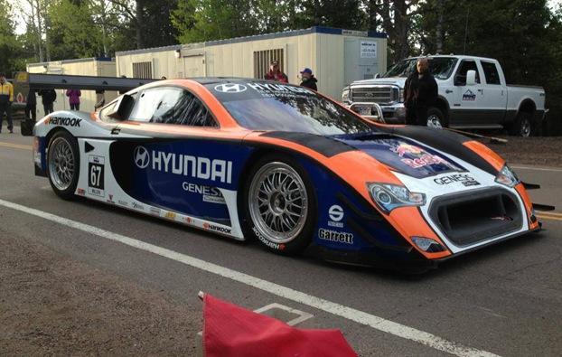 2013 Hyundai Genesis PM580T Pikes Peak racer-