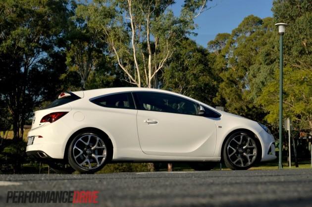 2013 Opel Astra OPC side