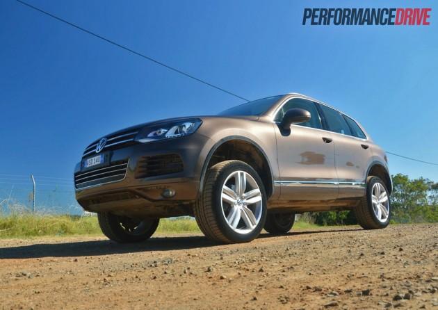 2013 Volkswagen Touareg V6 TDI air suspension highest-