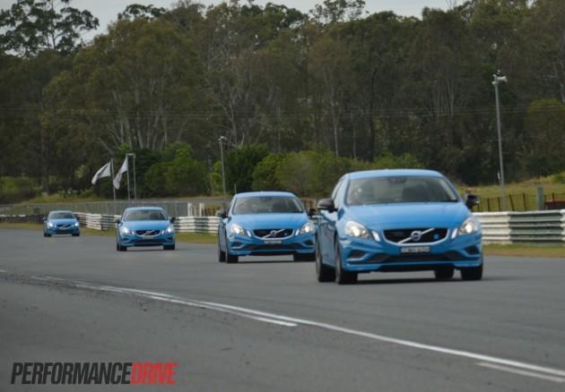 2013 Volvo S60 Polestar Australian launch-Lakeside