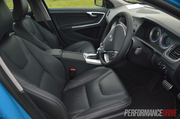 2013 Volvo S60 Polestar interior