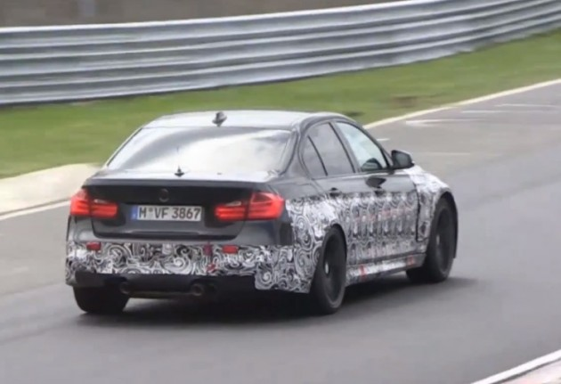 2014 BMW M4 prototype at Nurburgring