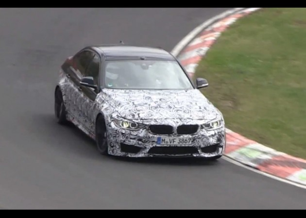 2014 BMW M4 prototype sedan