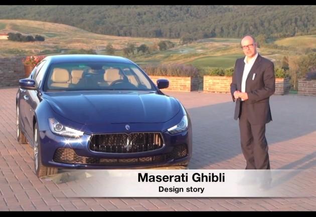 2014 Maserati Ghibli design story