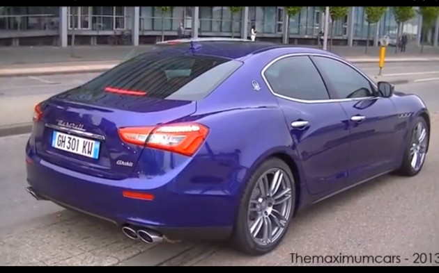 2014 Maserati Ghibli sound