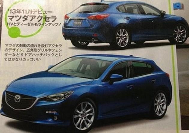 2014 Mazda3, maybe