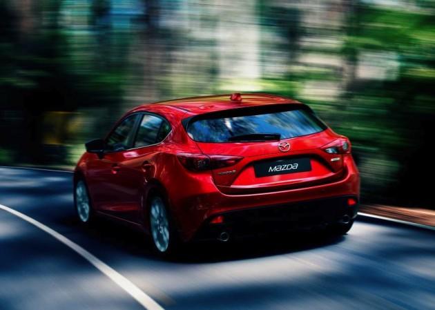 2014 Mazda3 rear