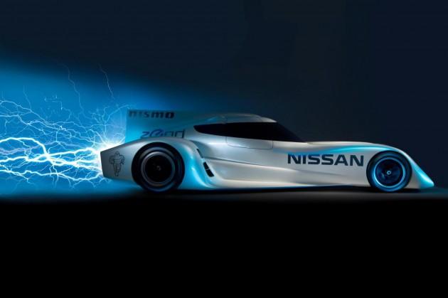 2014 Nissan ZEOD RC Le Mans racer-electric