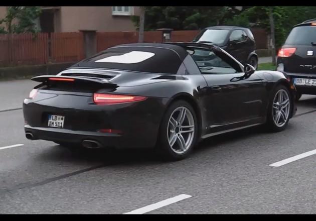 2014 Porsche 911 Targa prototype