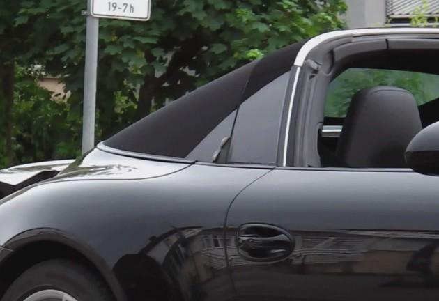 2014 Porsche 911 Targa prototype B-pillar