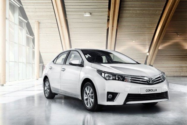 2014 Toyota Corolla sedan-Euro