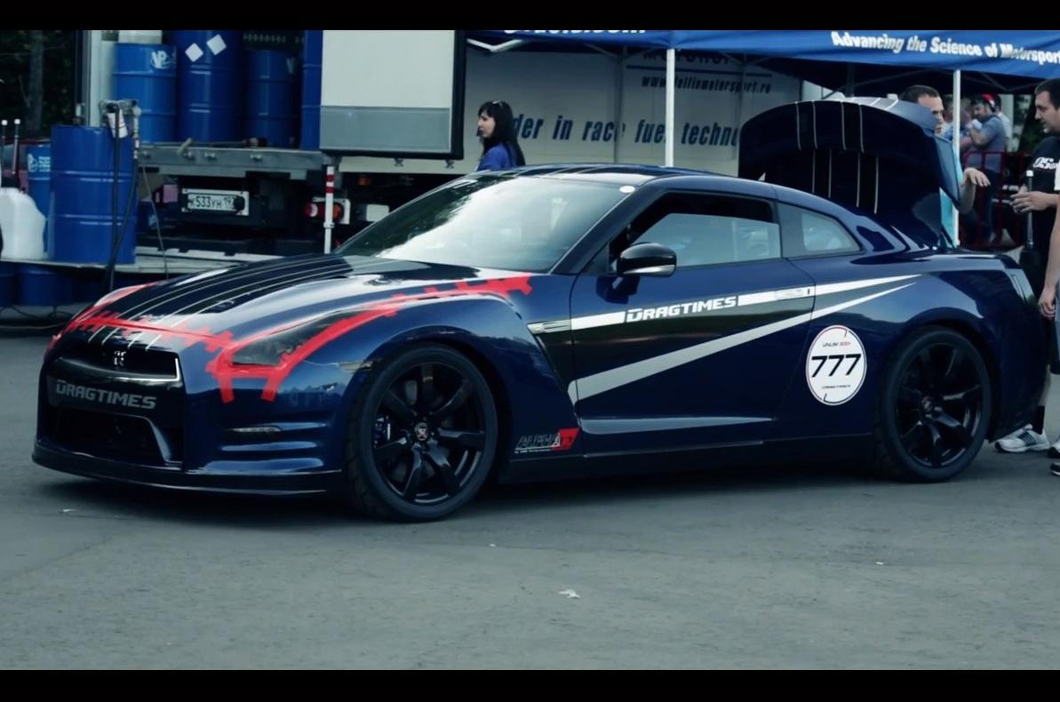 2012 Nissan Gtr Alpha Omega By Ams Performance Car
