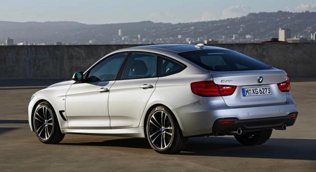 BMW 3 Series Gran Turismo rear
