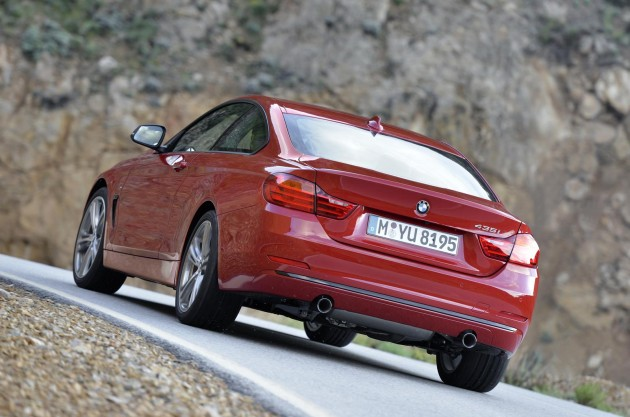 BMW 435i back