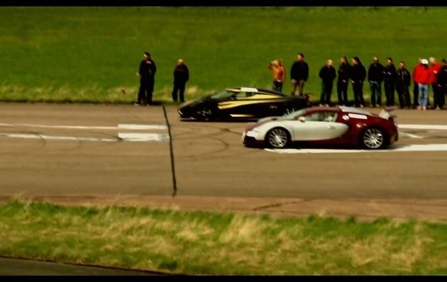 Bugatti Veyron vs Koenigsegg Agera S Hundra