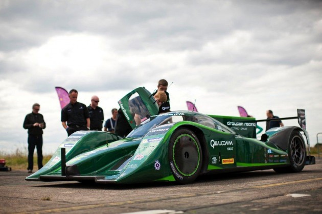 Drayson Racing Electric Speed Record