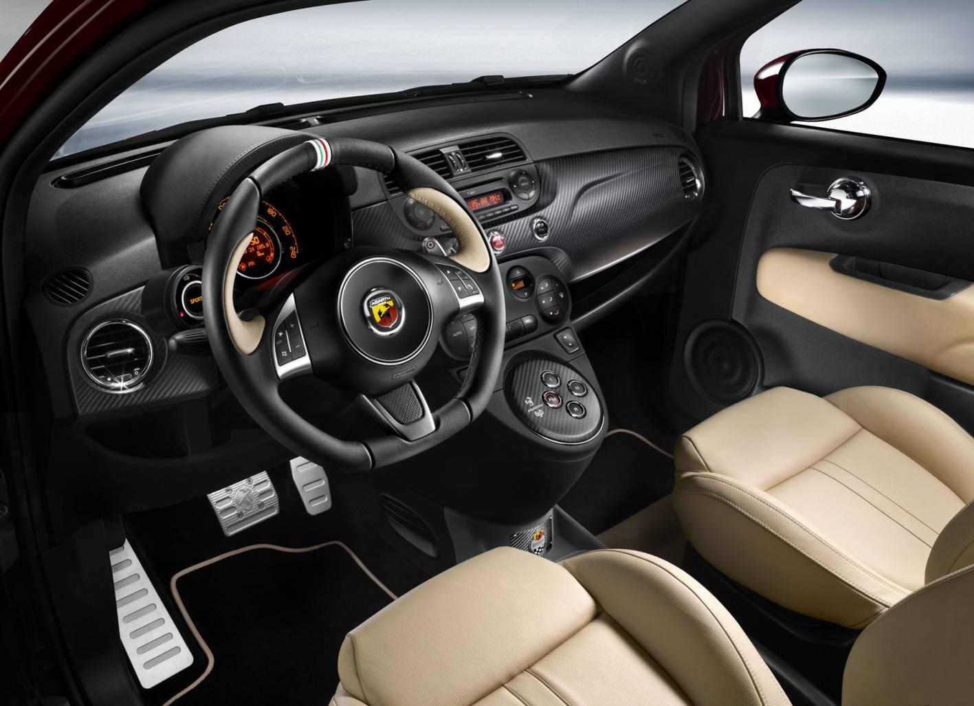 Fiat 500 Abarth Edizione Maserati-interior |