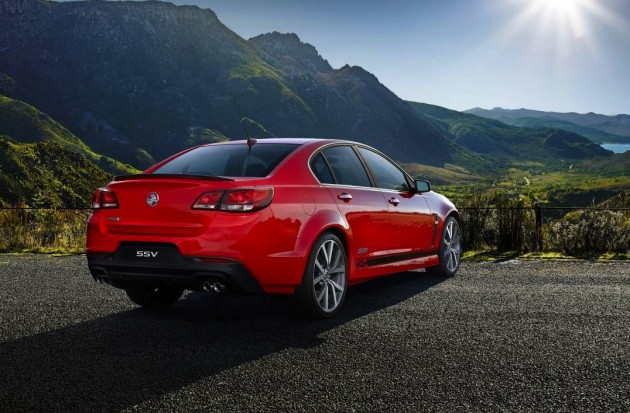 Holden VF Commodore SS V Design Pack rear