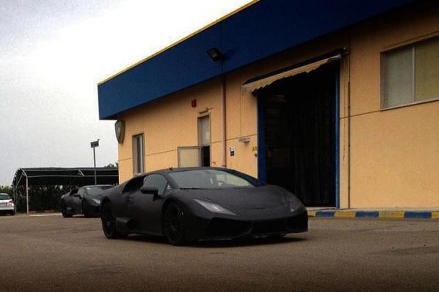 Lamborghini Cabrera Gallardo successor prototype