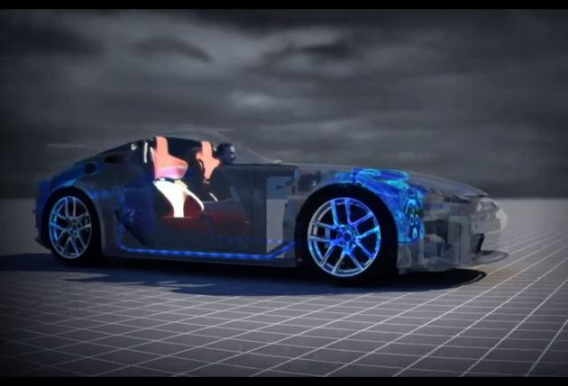 Lexus LFA tribute