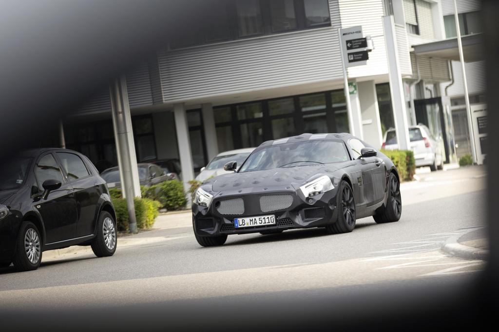 Mercedes Benz  Sls Prototype