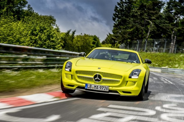 Mercedes-Benz SLS AMG Electric Drive Nurburgring