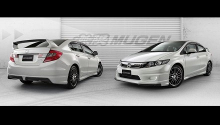 Mugen 2013 Honda Civic sedan bodykit