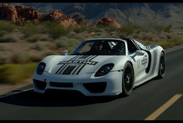 Porsche 918 Spyder hot weather testing