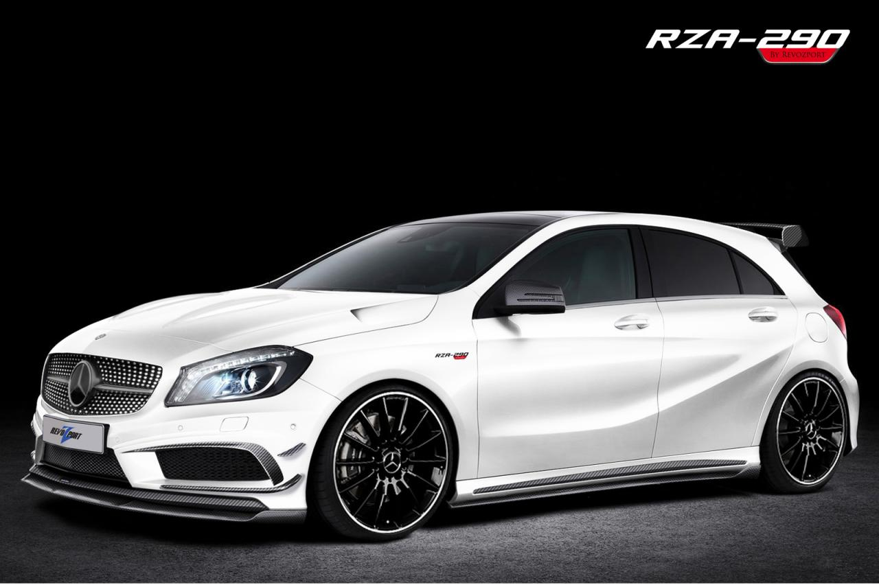 Revozport mercedes benz a 250 39 rza 290 39 tuning package for Mercedes benz packages