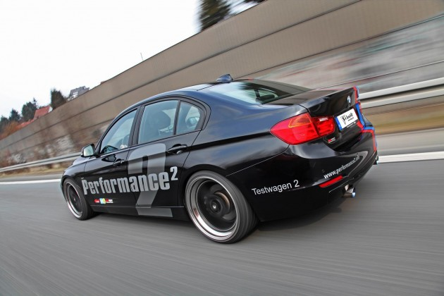 Schmidt Revolution BMW 335i driving