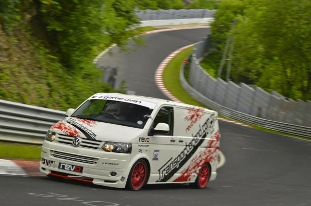 Volkswagen T5 van Nurburgring record