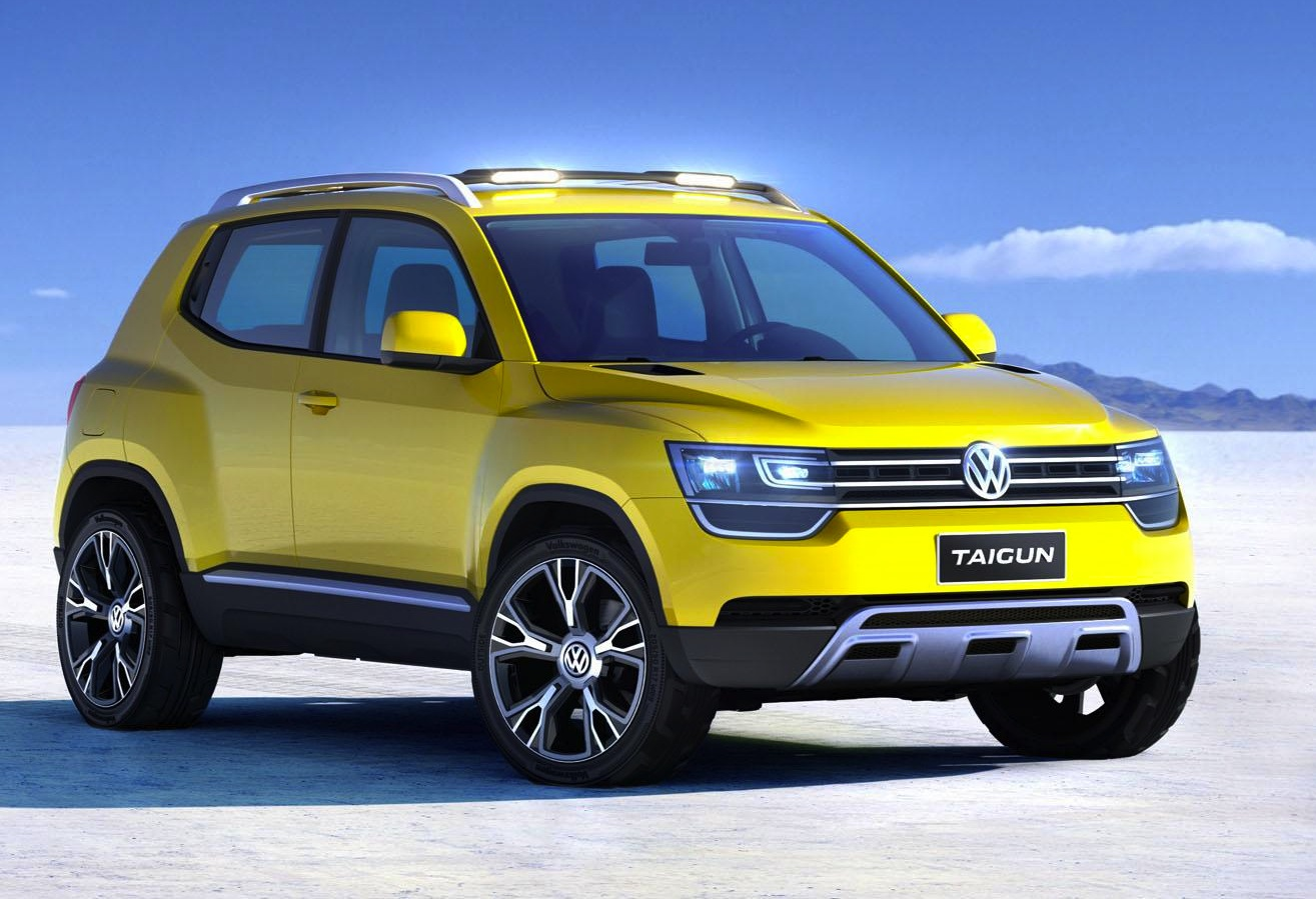volkswagen taigun entry level suv to arrive by 2016 report performancedrive. Black Bedroom Furniture Sets. Home Design Ideas