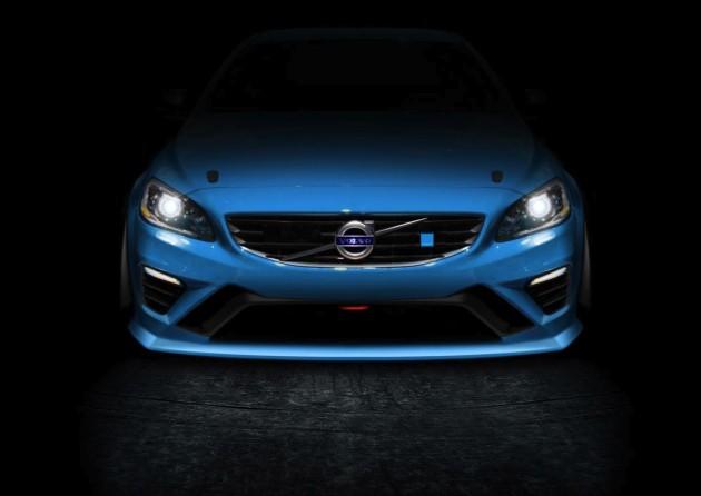 Volvo S60 Polestar V8 Supercar teaser