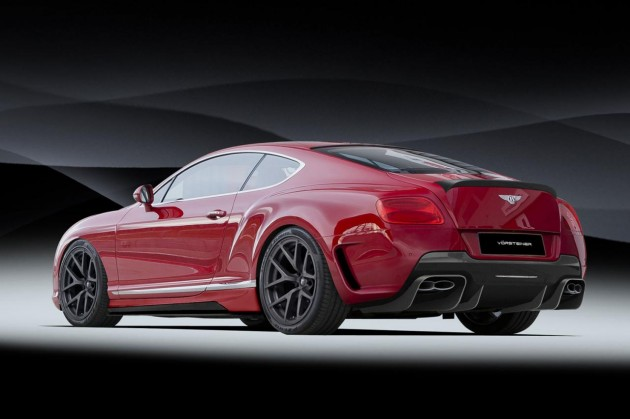 Vorsteiner Bentley Continental GT rear