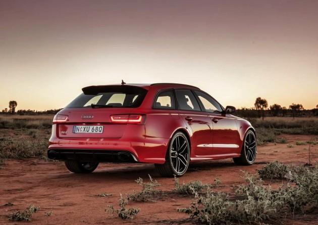 2013 Audi RS 6 Avant-rear
