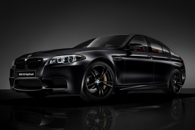 2013 BMW M5 Nighthawk Special Edition Frozen Black