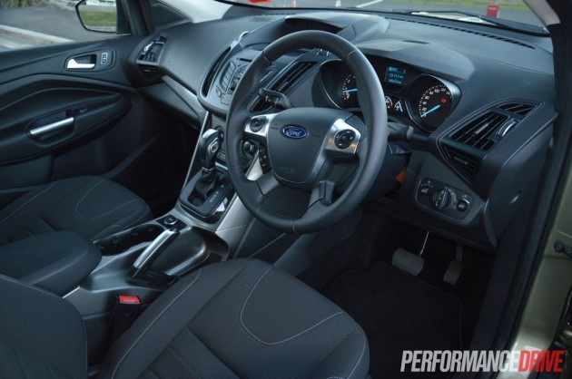 2013 Ford Kuga Ambiente EcoBoost cabin
