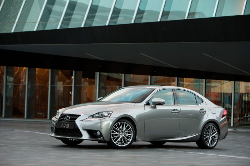 2013 lexus is range on sale in australia from 55 900 performancedrive. Black Bedroom Furniture Sets. Home Design Ideas