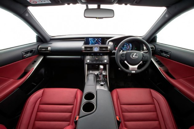 2013 Lexus IS 350 F Sport interior