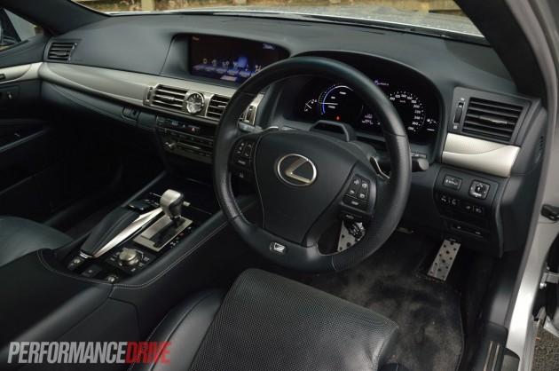 2013 Lexus LS 600h F Sport interior