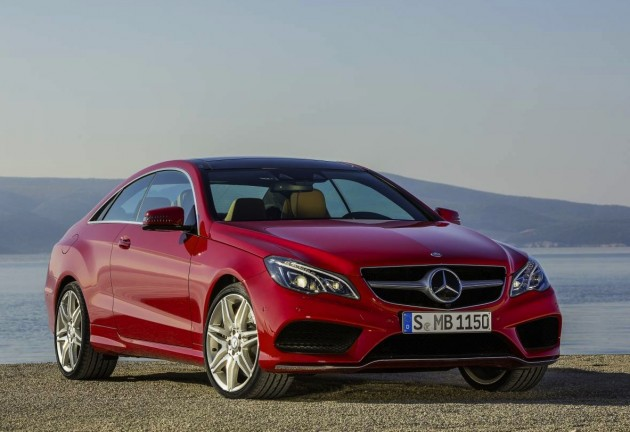 2013 Mercedes-Benz E-Class Coupe-red
