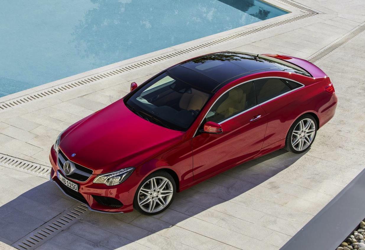 2013 mercedes benz e class coupe cabrio prices announced for Mercedes benz e class coupe price