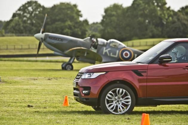 2013 Range Rover Sport vs V12 Spitfire