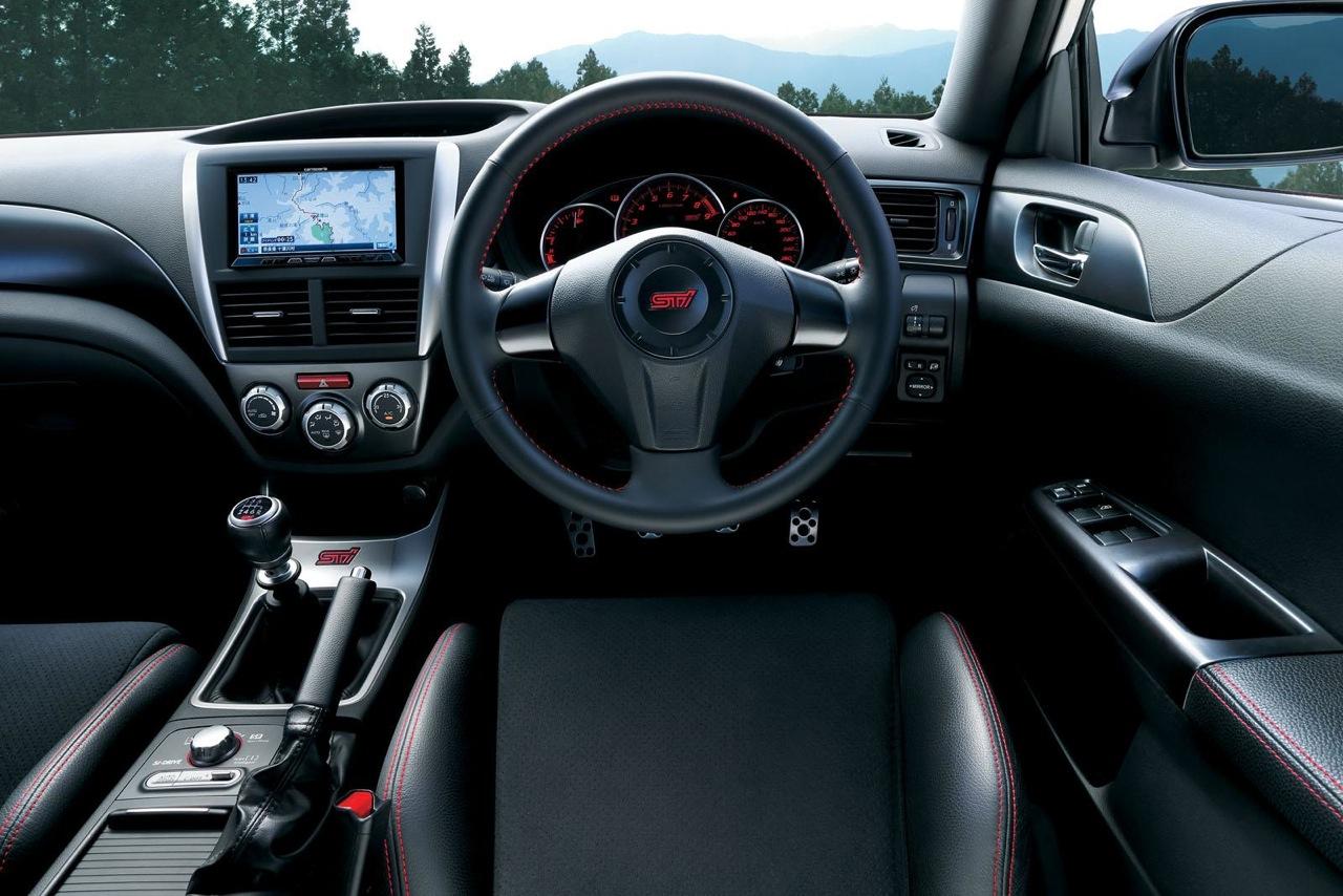 2013 Subaru WRX STI tS Type RA interior