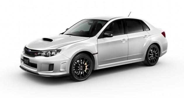 2013 Subaru WRX STI tS Type RA white