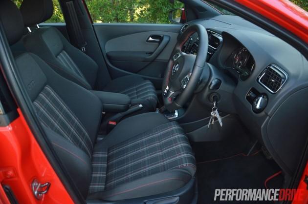2013 Volkswagen Polo GTI cabin